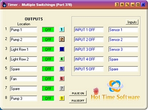 Relay Control Software Multiple Switchings