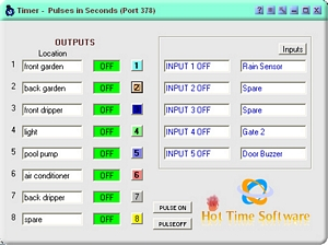 Relay Control Software Pulses in Seconds